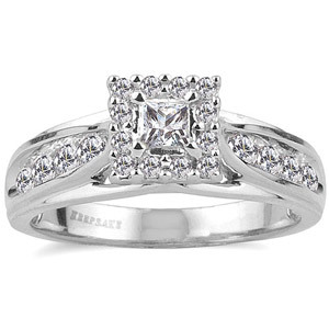 http://bestengagementringsreview.com/ | Purchase the Keepsake Melody 5/8 Carat T.W. Diamond 14kt White Gold Engagement Ring at Walmart.com. Save money. Live better. ✿. ✿. ☺ ✿