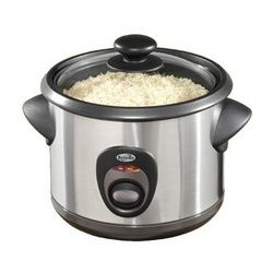 how to use a slow cooker to make rice