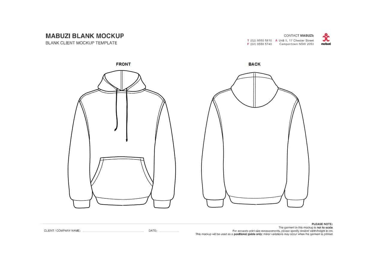 Download 39 Blank Hoodie Templates Hoodie Mockups Á… Template Lab Pertaining To Printable Blank Tshirt Template Sampl Hoodie Template Hoodie Mockup Tshirt Template