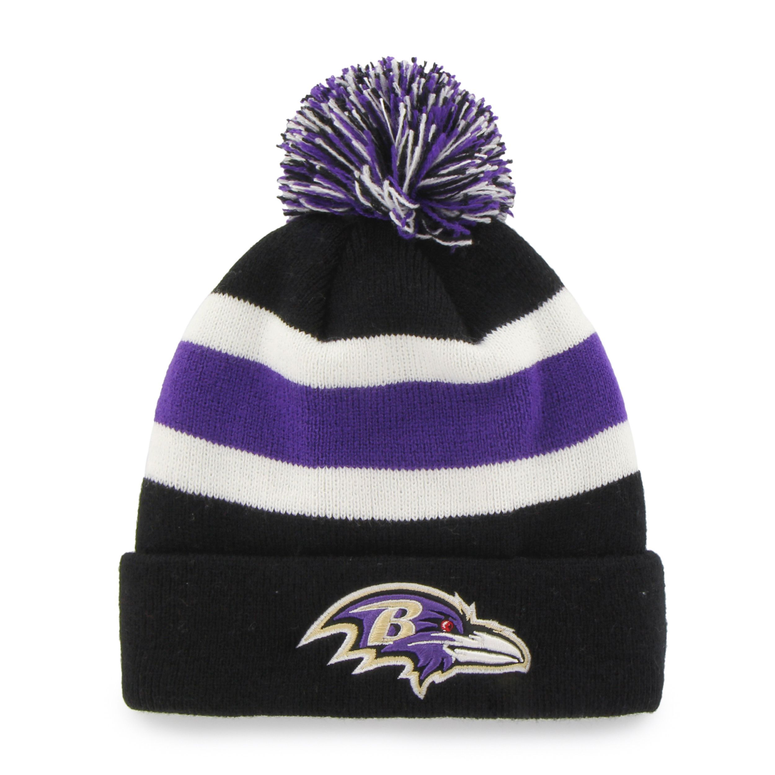 a3501ee76da Fan Favorites Baltimore Ravens NFL Beanie Hat