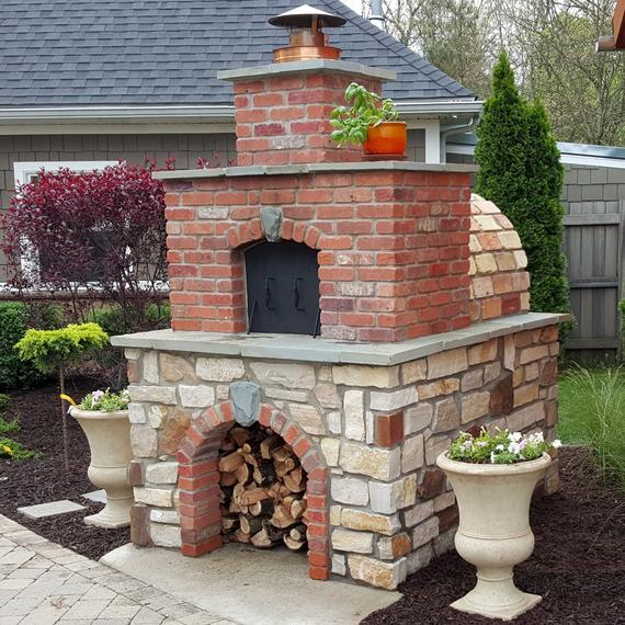 Pizza Oven • Brick Oven - Build an Outdoor Pizza Oven for ...