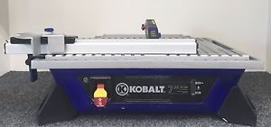 Kobalt 7 Inch Wet Tabletop Tile Ceramic Saw Tool Kws B7 06 Priced At 129 99 Available At Gadgets And Gold In Gainesvil Ceramic Floor Tiles Ceramic Floor Tiles