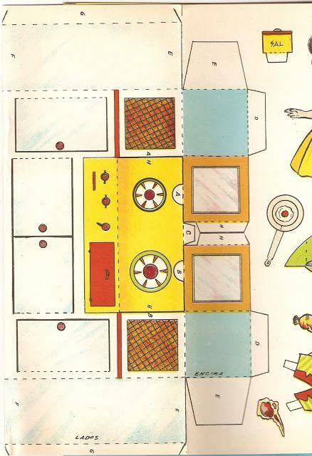 Quiero ver mi cocina cuardero de recortables no 4 wanna for Quiero disenar mi cocina