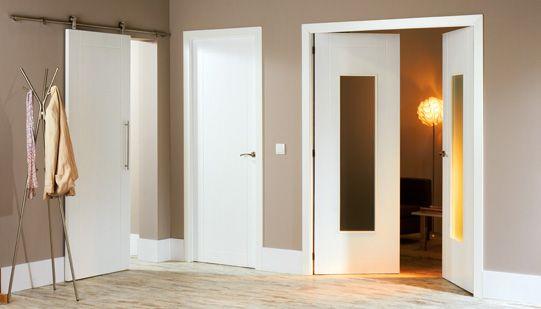 C mo elegir puertas de interior leroy merlin white for Puertas blancas leroy merlin