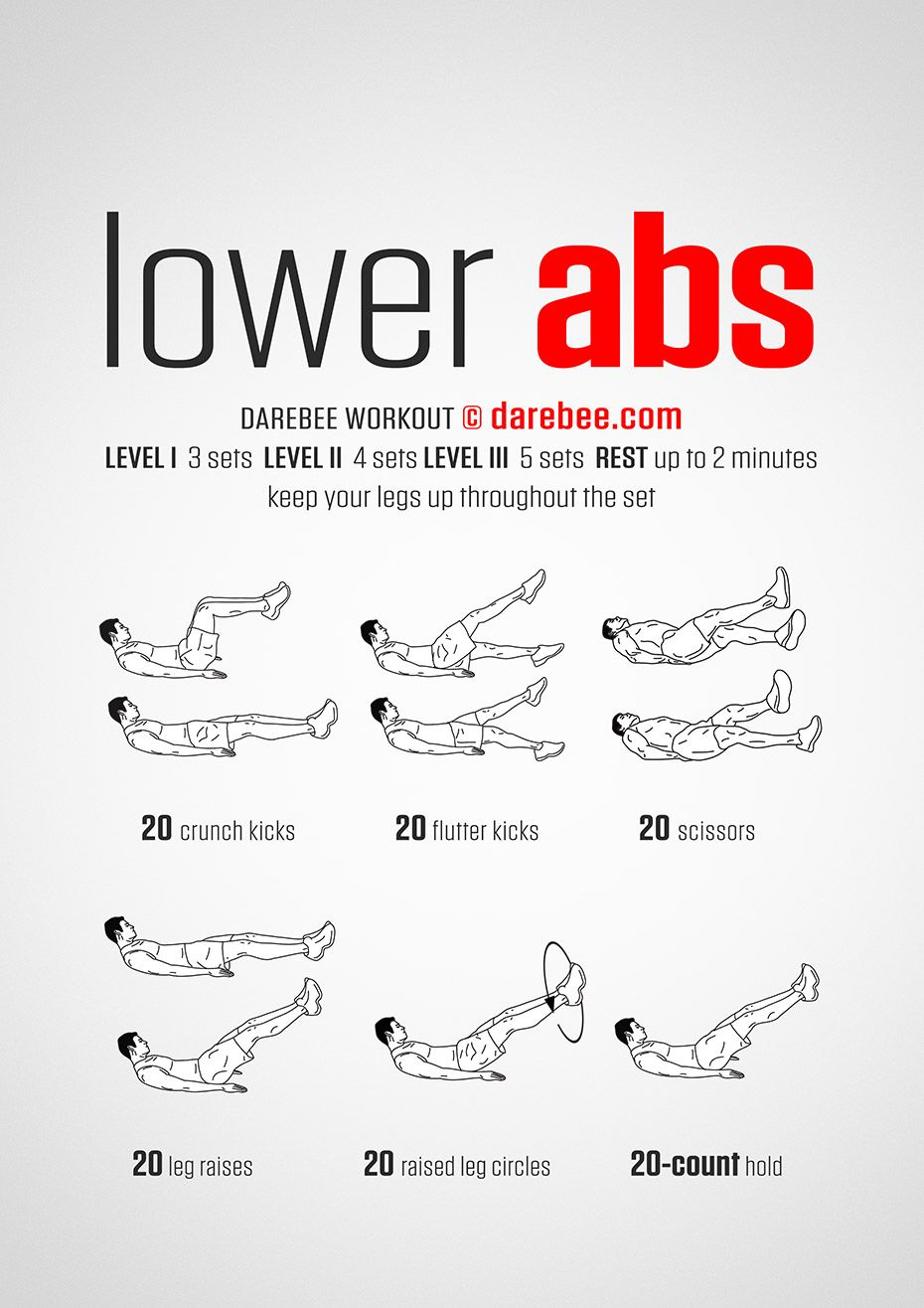 NEW Lower Abs Workout darebee workout fitness abs  Sports