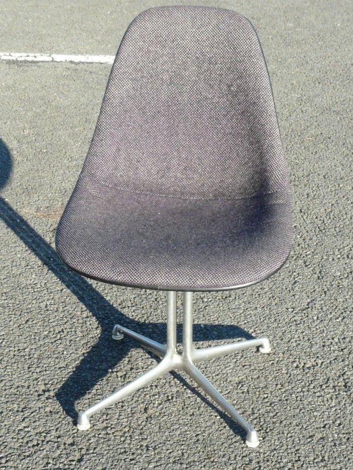 Eames Editions Herman Miller Chaise LA FONDA Grise De Bureau