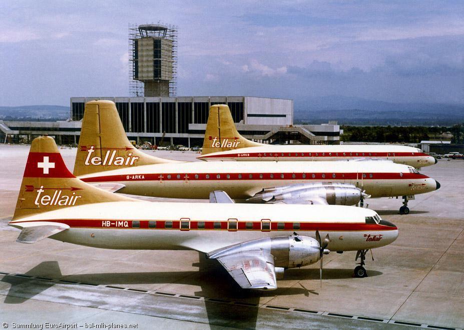 Tellair Convair CV440 Metropolitan, Two Bristol 175