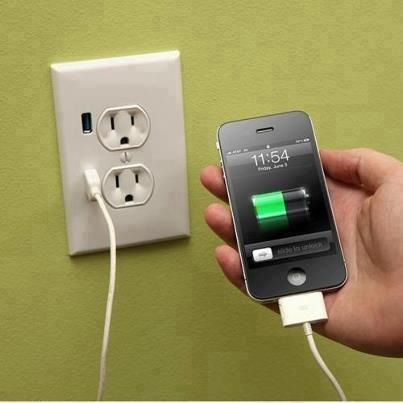 So putting this in my house!! USB outlets : )