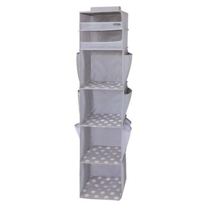 Ed Bauer Closet Organizer Gray Ordered That For Baby Room To Use Diaper Storage And Such Zeltra284