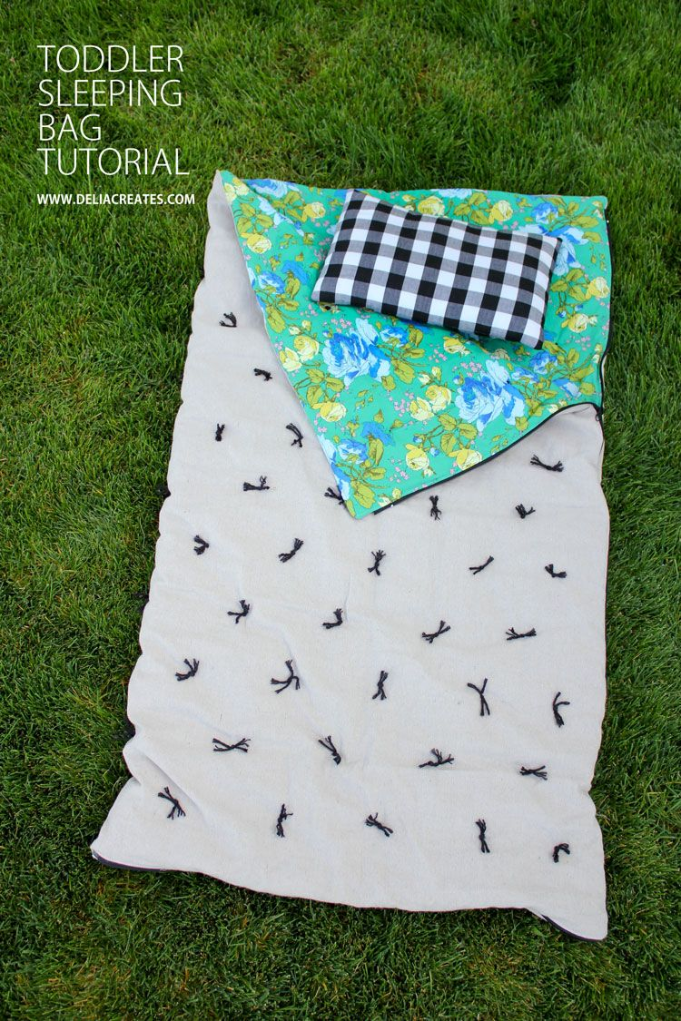 Diy Toddler Sleeping Bag Tutorial Delia Creates Babykids