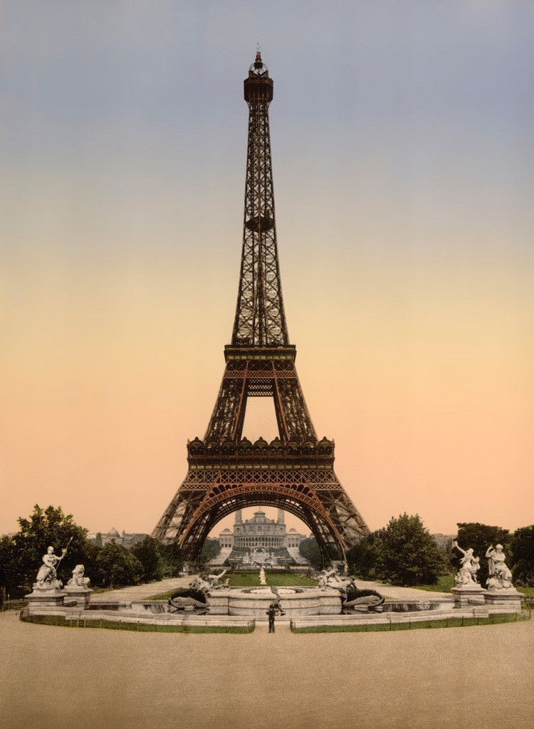 Eiffel Tower, Exposition Universelle, 1900 | Tower, France and Paris ...