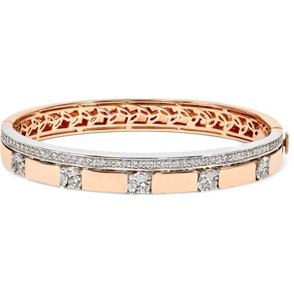 Yeprem 18-karat Rose And White Gold Diamond Bracelet - Rose gold INn5wdU