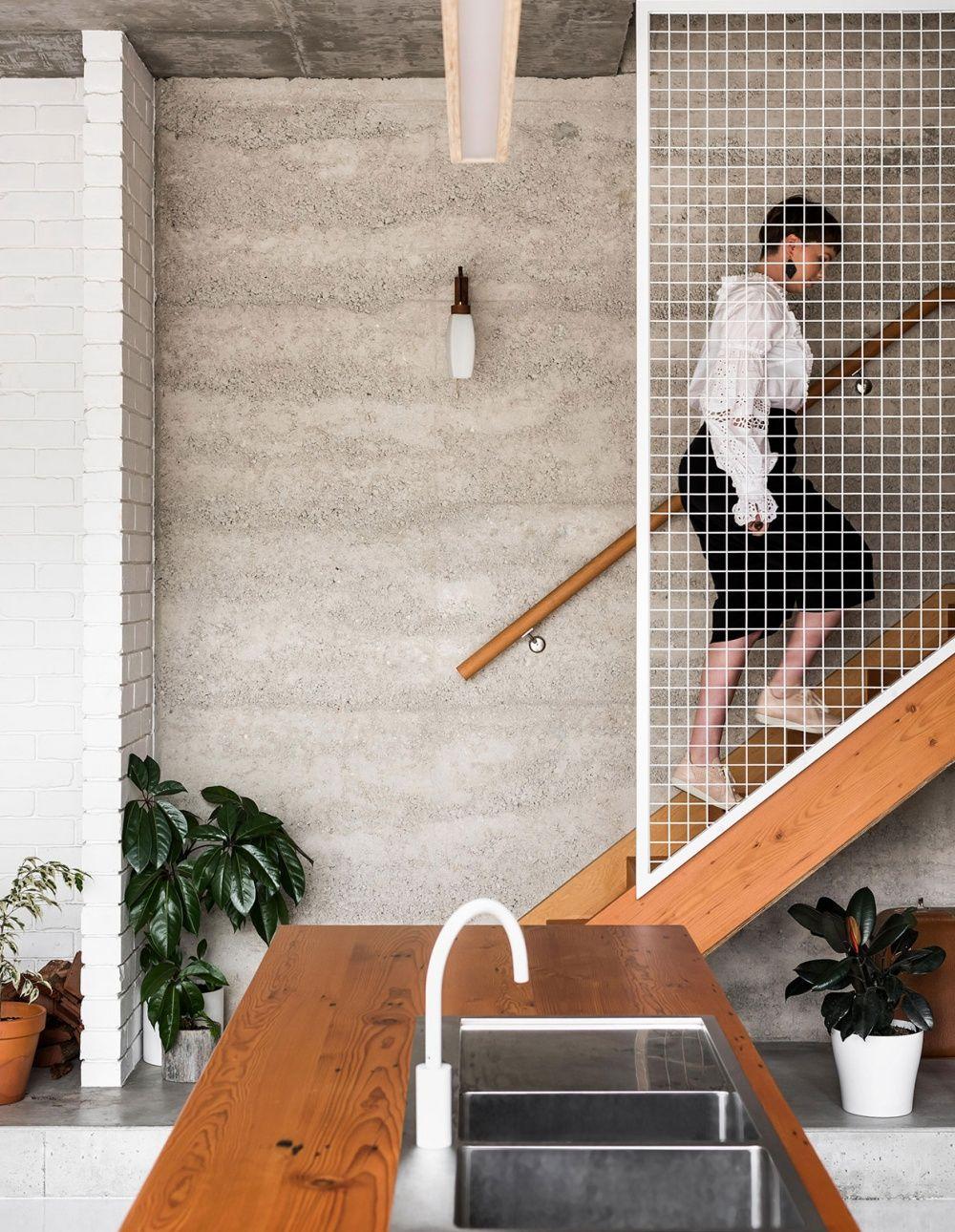 Eco House Western Australia | Escalera, Interiores y Arquitetura