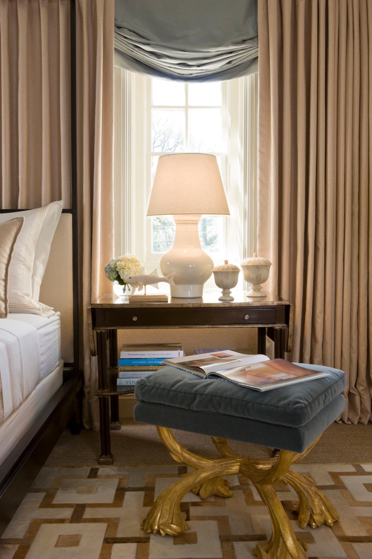 Luxe Bedroom | Michael Hampton, Inc. | Interior Design ...