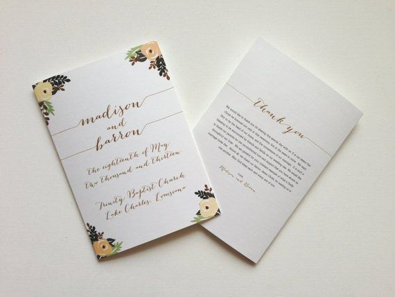 Are Wedding Programs Necessary We Ll Tell You The Answer Share Ceremony Program Pros And Cons