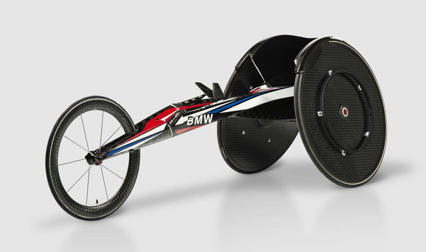 BMW Created a Carbon Fiber Racing Wheelchair and It's Incredible - The Drive