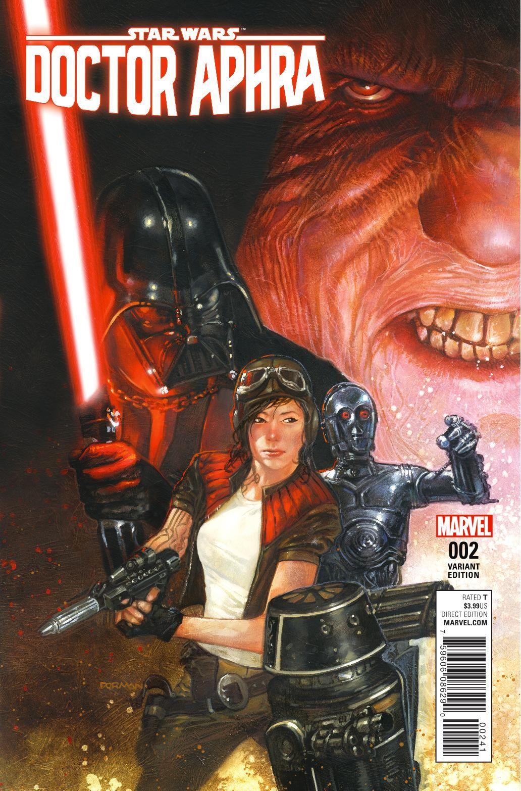 Marvel Star Wars Darth Vader #12 2016 NM Stock Image