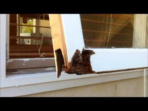 Fix Wood Rot On Window Frame Wmv Windows Exterior Wooden Window Frames Window Frame