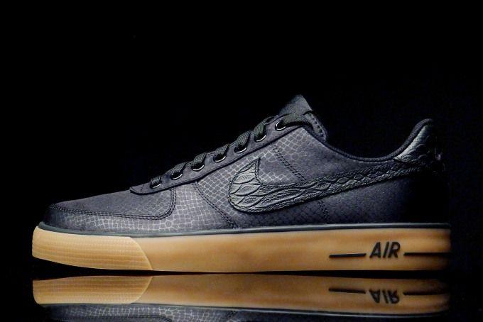quality design d63f9 bf09e Nike Air Force 1 AC Black - Gum Light Brown