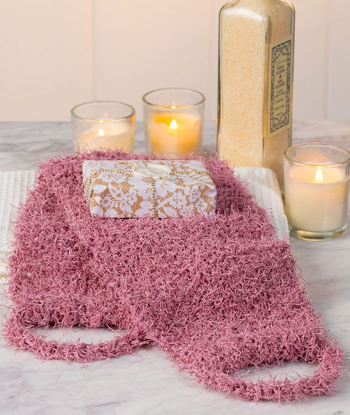 Free Knitting Pattern For Back Scrubber I Need One Of
