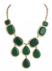 Cascading Esmeralda Necklace