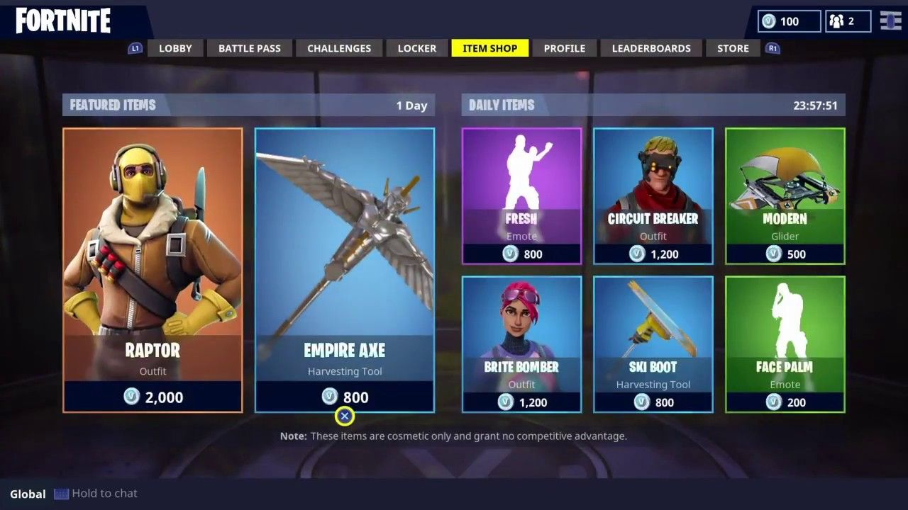 how to buy fortnite items