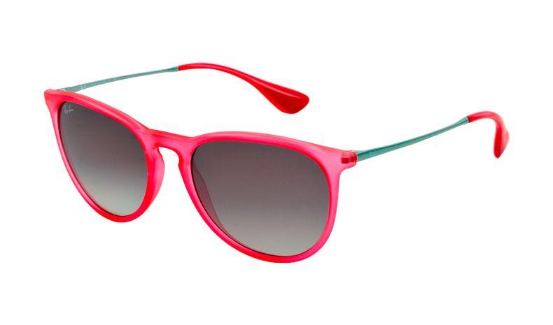 Ray Ban 4171 Erika Sunglasses Rubber Transparent Coral