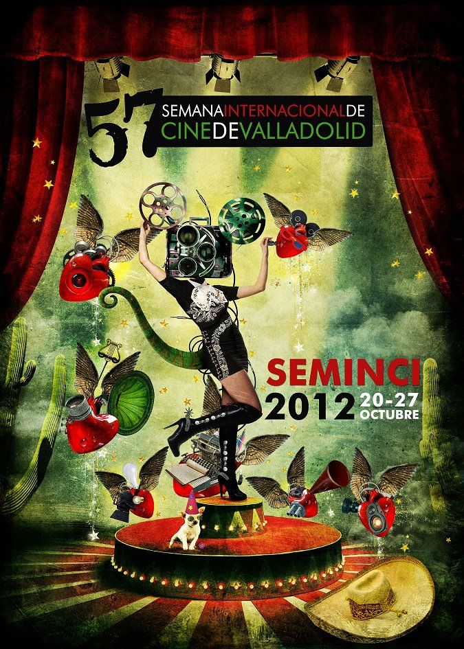 Cartel Oficial 57 Seminci Valladolid | Festival Internacional de Cine. Autora: Marta Corcho