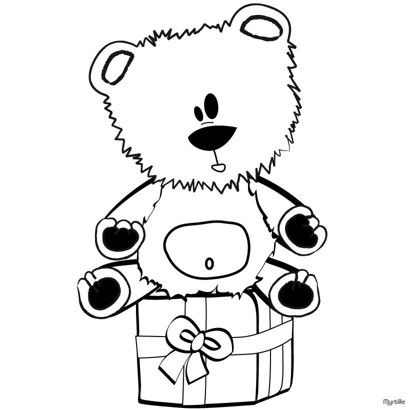 Color online   Toddler Time   Pinterest   Teddy bear, Christmas ...