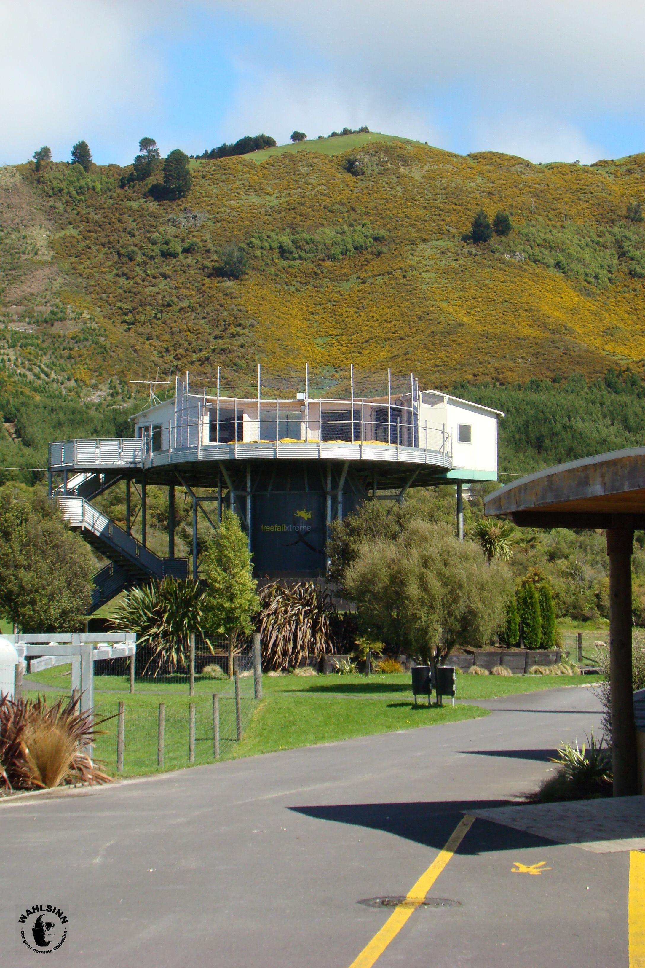 Bodyflying in Rotorua // Neuseeland