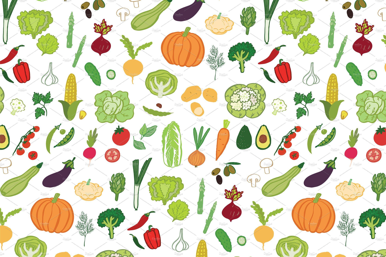 Vegetables by GooseFrol on @creativemarket | hochzeitszeitung ...