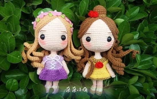 Amigurumi Prenses Yapımı #bonecas