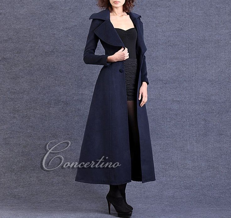 navy blue wool dress - Google Search | This one dress I'm trying ...