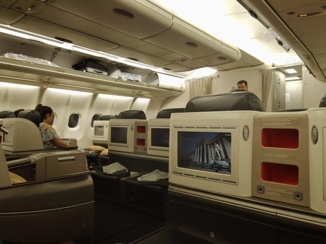 Flight Review Turkish Airlines Business Class A330