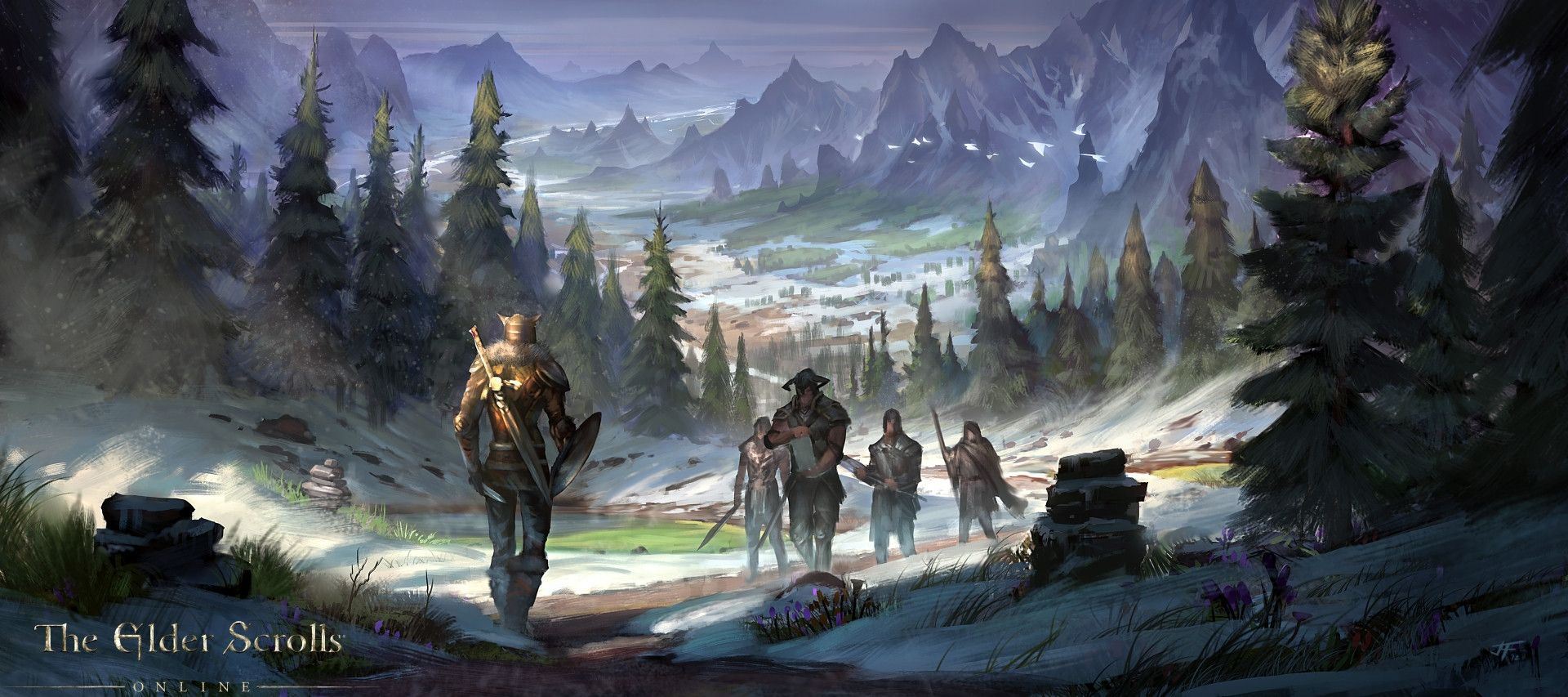 Video Game The Elder Scrolls Wallpaper Skyrim Concept Art Elder Scrolls Online Elder Scrolls Art