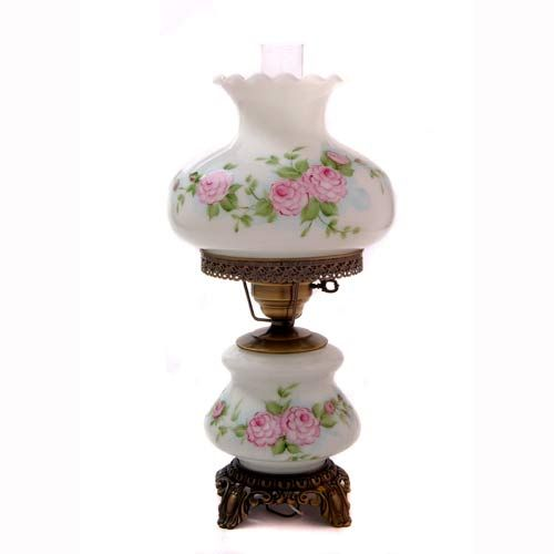 Hand Painted Antique Lamp Bellacor