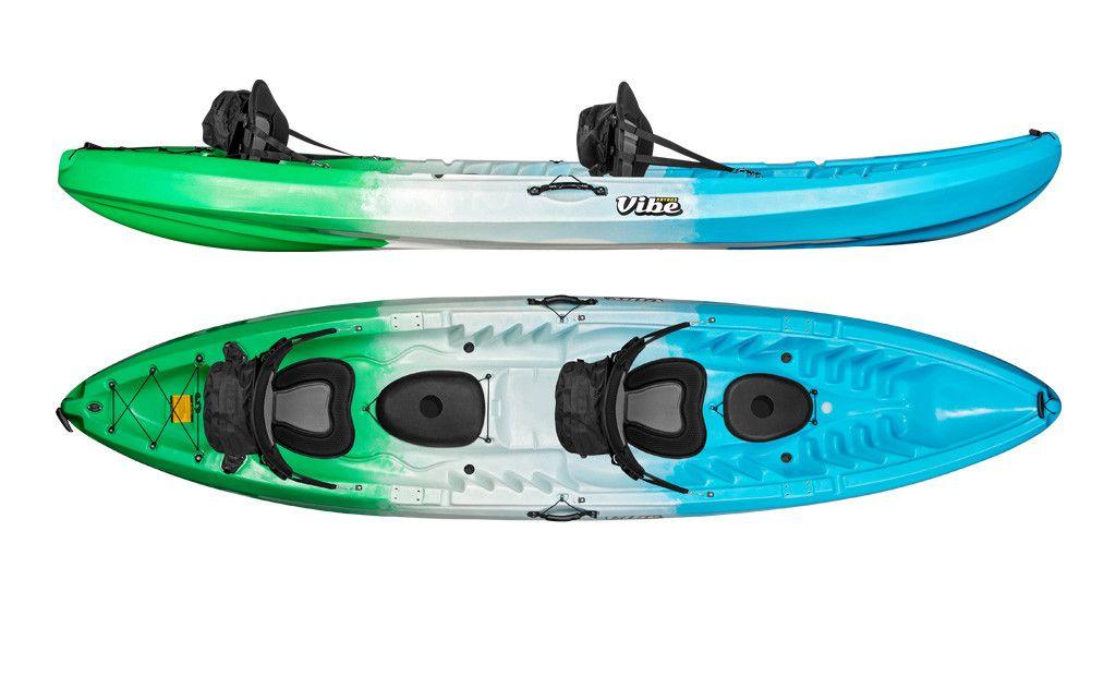 Vibe Skipjack 120t Tandem Kayak Package Tandem Kayaking