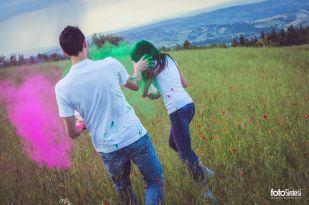 Francesca e Giorgio Colorful Engagement #fotosintesi #wedding  #engagement #weddingdestination