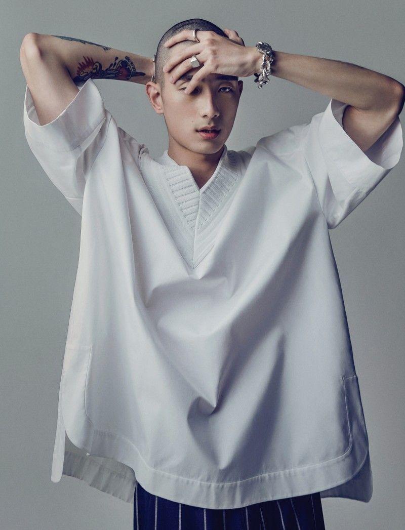 Sung Jin Park Goes High Fashion for Esquire Korea Shoot ...