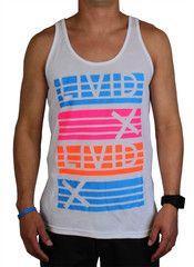 Party Tank (White) | LIVID