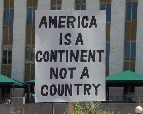 """""""North America and South America are treated as separate"""