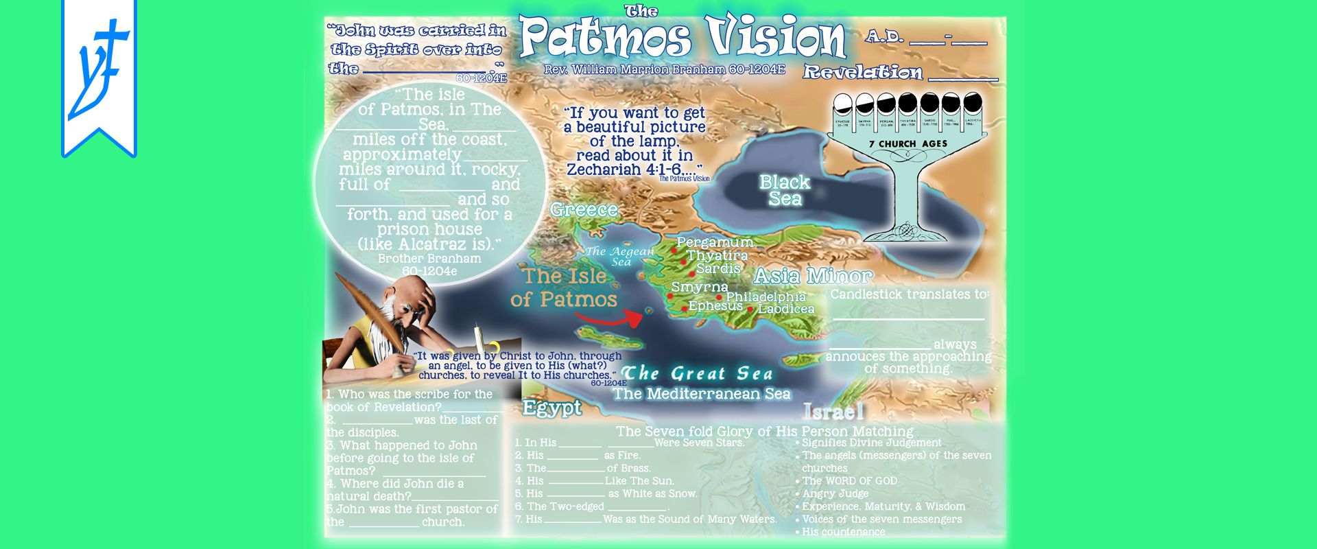 Creations Patmos Vision Worksheet With Images