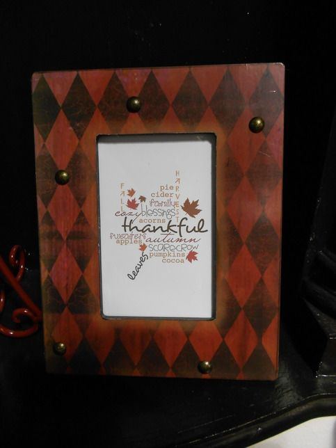 Red Diamond Picture Frame Gypsy Rose Boutique Shop And Diamond