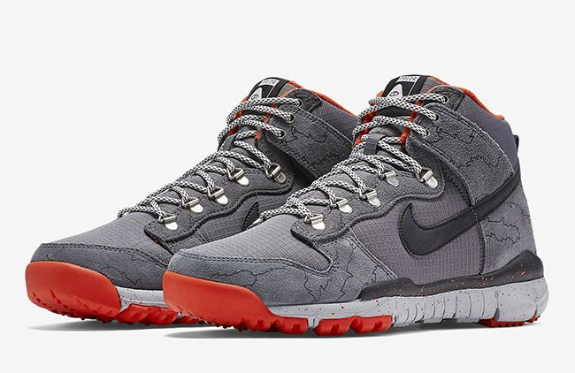 best sneakers 12ed0 0048a Poler Nike Dunk High OMS Dark Grey. Nike teams up with ...