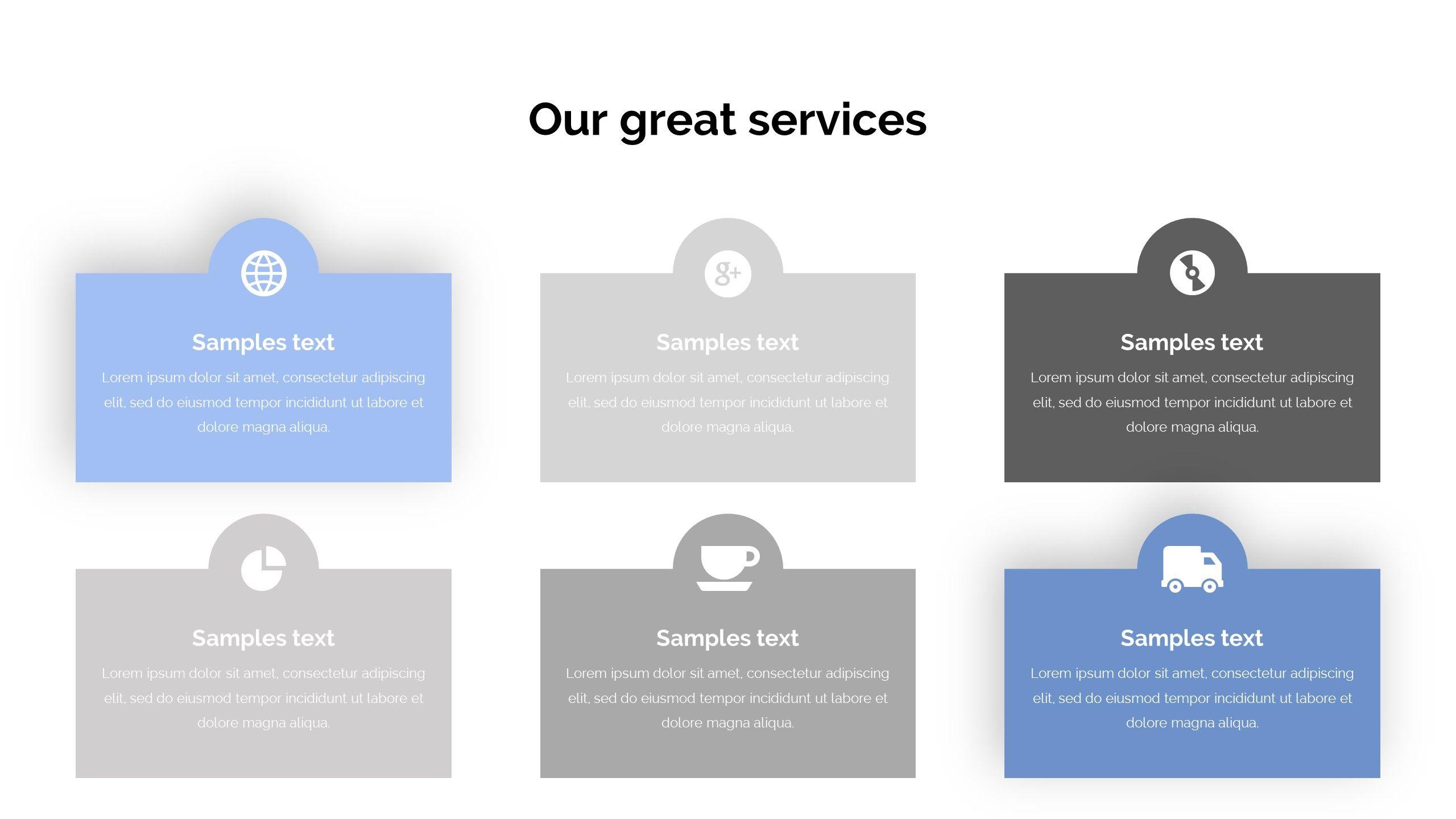 Services Concept Pitch Deck Powerpoint Template Pitch Concept Services Template Business Powerpoint Templates Powerpoint Templates Keynote Template