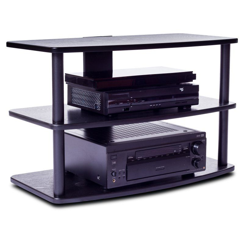 Plateau SF 3V 32 Inch TV Stand In Black   SF 3V 32 (