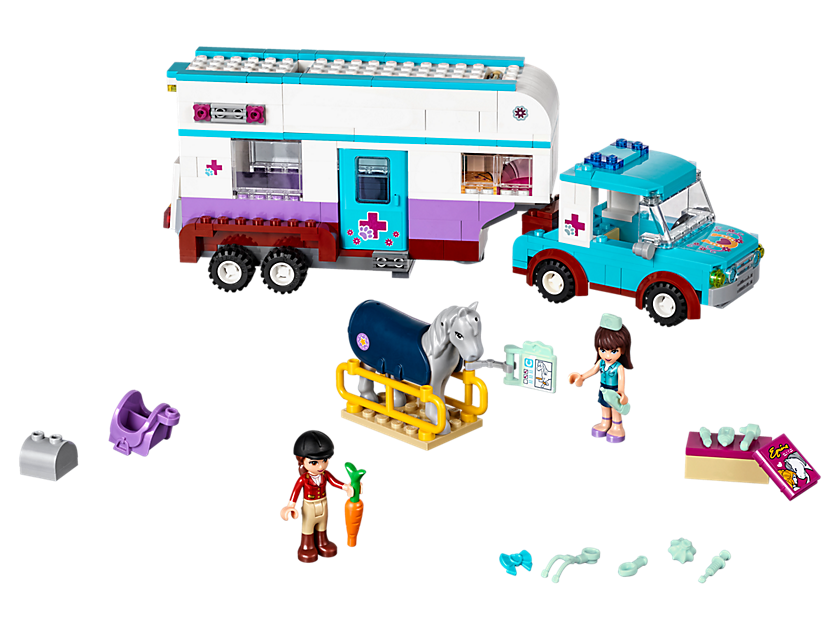 pferdeanh nger und tier rztin lego friends sets 2017. Black Bedroom Furniture Sets. Home Design Ideas