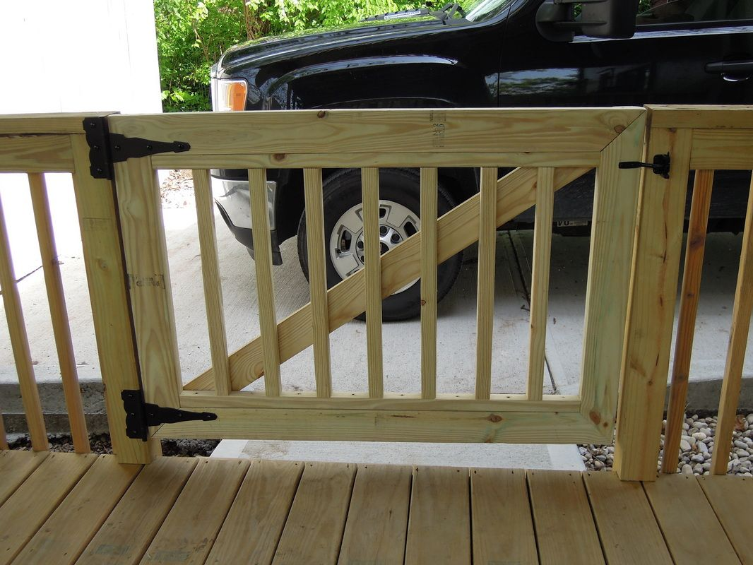 Deck Gates Need A Gate We Build Gates Need The Gate Installed