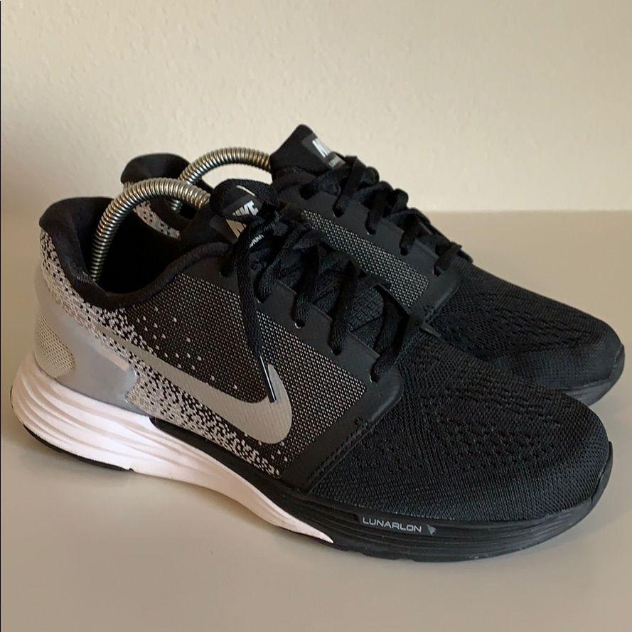 sports shoes 1b7e3 d70e6 Nike Shoes | Womens Nike Lunarglide 7 | Color: Black/Gray ...