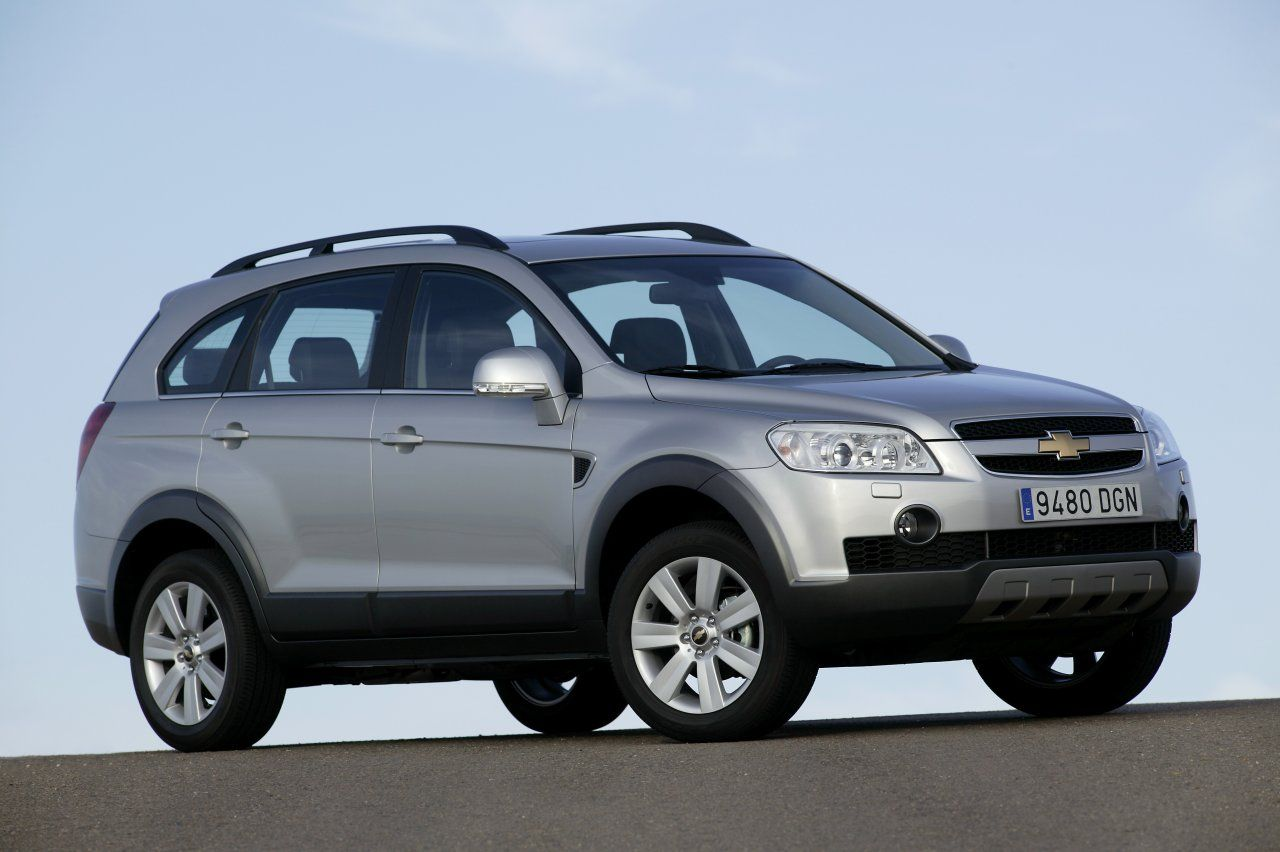Chevrolet Captiva Silver Car Picture Chevrolet Captiva